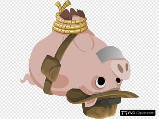 Hogtied Piggy Explorer