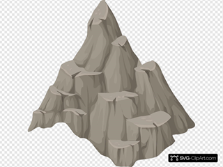 Alpine Landscape Cone Top Rock
