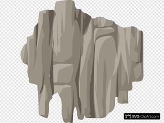 Alpine Landscape Cliff Bandaid Topper