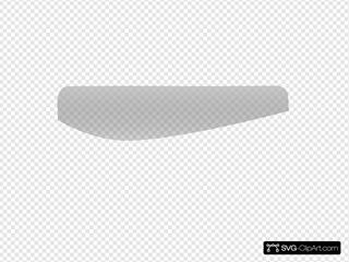 Rectangular Button Gray