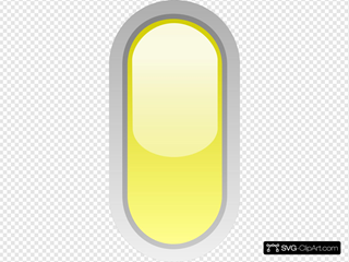 Led Rounded V Yellow