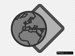 Earth With Paper