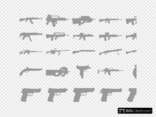 Gray Guns Revolver