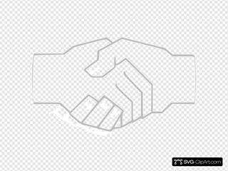 Simple Handshake Gray
