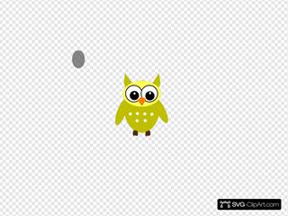 Grellow Gray Owl