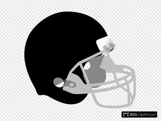Black And Gray Helmet