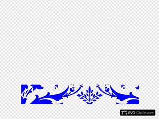 Royal Blue Damask