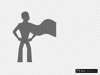 Grey Super Hero