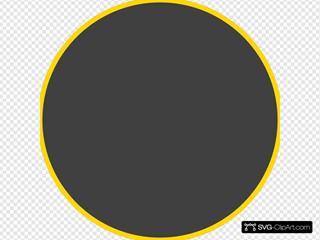 Dark Gray Circle