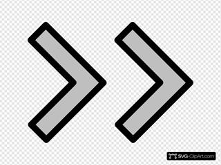 Right Double Arrow