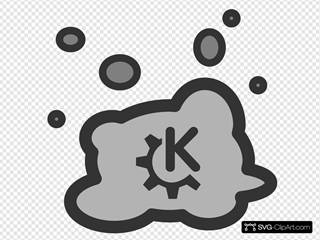 Cloud And Bubbles With Company Logo