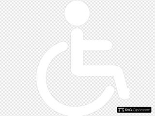 Wheelchair Icon Gray