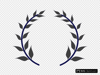 Wreath Navy Gray