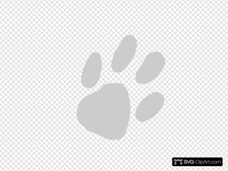 Large Gray Paw