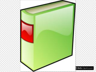 Green Hard Covered Book