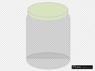 Plain Dream Jar Light Green