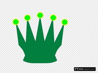 Green Queen Crown