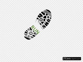 Marathon Shoe Print