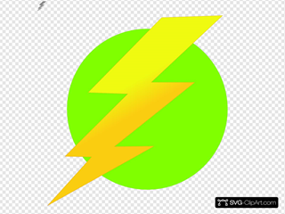 Lightning Green Circle