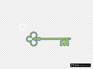 Green Skeleton Key 2