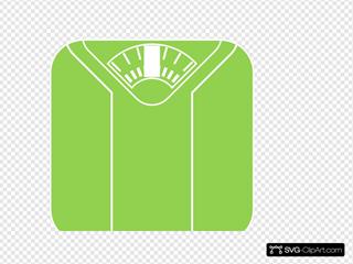 Green White Scale