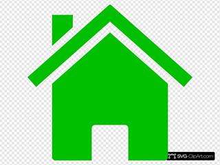 House Icon Green