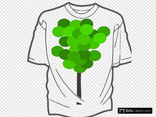 Green 7 T-shirt 7