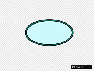 Aqua Oval