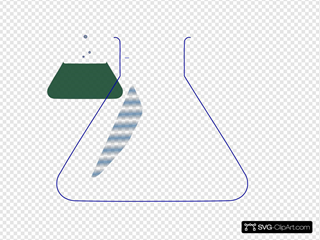 Chemistry Tube Green SVG Clipart