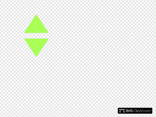 Two Green Triangles
