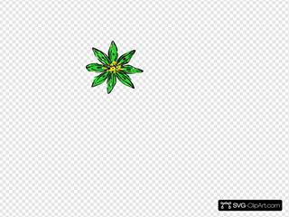 Green Yellow Flower
