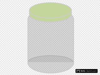 Plain Dream Jar Olive Green