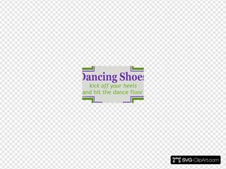 Dancing Shoe Label