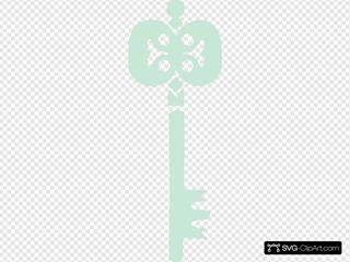 Light Grey Green Key