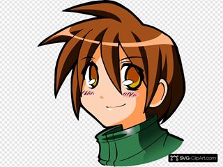 Manga Kid Head