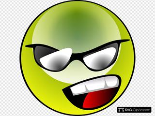 Raphie Green Lanthern Smiley