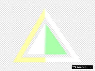 Triangle Yellow-green