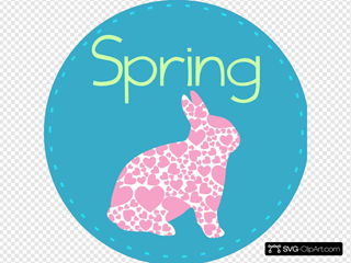 Spring With Bunny