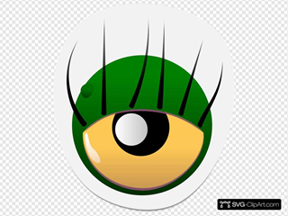 Monster Eye Sticker Two