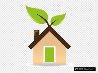 House With Green Energy