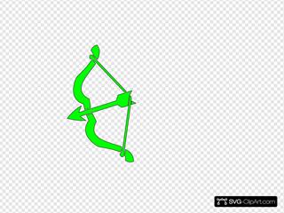 Green Bow N Arrow