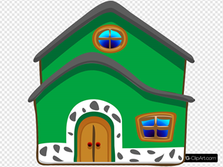 Green House Energy SVG Clipart