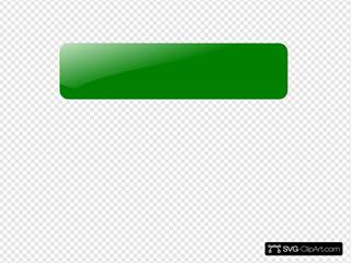 Blank Green Button 7