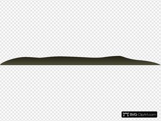 Firebog Green Bump SVG Clipart