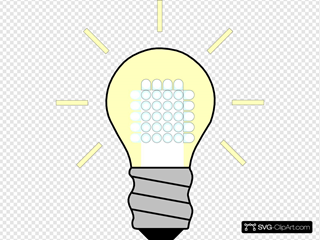 Light Bulb Led On