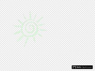 Sun Sunshine Green