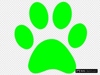 Blues Clues Green Paw