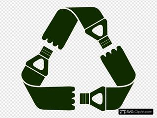 Recycle Plastic Bottles Symbol