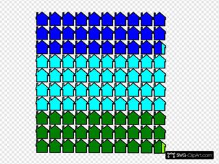 Statistics Of Housing SVG Clipart