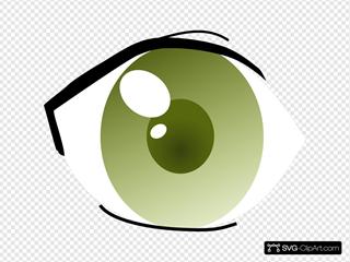 Secretlondon Manga Eye Right